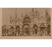 The Church of Saint Mark,Venice,Italy Photographic Print