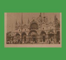 The Church of Saint Mark,Venice,Italy One Piece - Short Sleeve