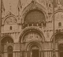 The Church of Saint Mark,Venice,Italy Sticker