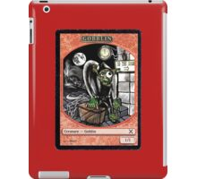 Magic Cards Goblin Igor Young Frankenstein Junior Token iPad Case/Skin