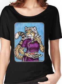 Sushi Cheetah  Women's Relaxed Fit T-Shirt