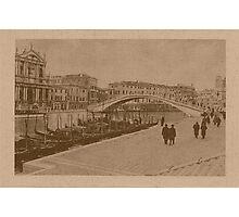 The New Station Bridge,Venice,Italy Photographic Print