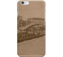 The New Station Bridge,Venice,Italy iPhone Case/Skin