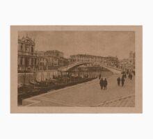 The New Station Bridge,Venice,Italy Kids Tee