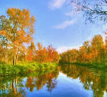 The Calm of Early Fall by solnoirstudios