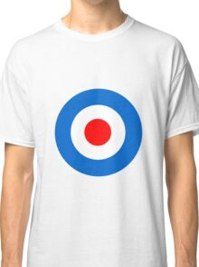 Mod Target Sticker, Target T-shirt, mod sticker, scooter sticker, scooterboy, vespa, lambretta, Punk Classic T-Shirt
