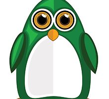 Green Penguin by Adamzworld