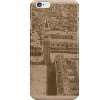 Aerial view of Saint Mark,Venice,Italy iPhone Case/Skin