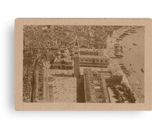 Aerial view of Saint Mark,Venice,Italy Canvas Print