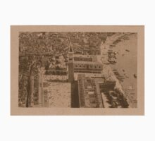 Aerial view of Saint Mark,Venice,Italy Kids Tee