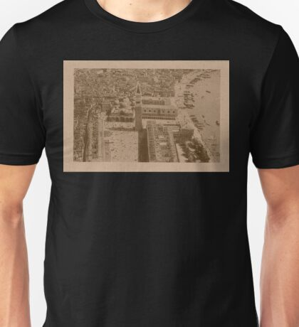 Aerial view of Saint Mark,Venice,Italy Unisex T-Shirt