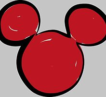 Mickey shadow by NAAY
