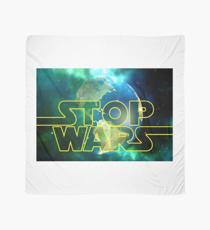 peace / stop wars Scarf