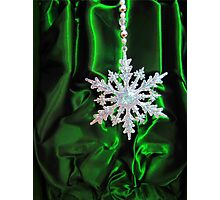 Christmas Snowflake Photographic Print