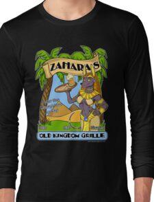 Zahara's Old Kingdom Grille Restaurant Parody  Long Sleeve T-Shirt