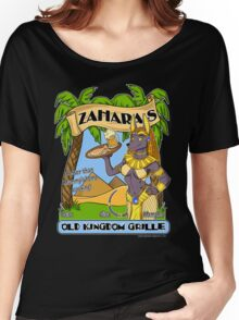 Zahara's Old Kingdom Grille Restaurant Parody  Women's Relaxed Fit T-Shirt