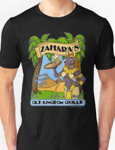 Zahara's Old Kingdom Grille Restaurant Parody  Unisex T-Shirt