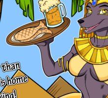 Zahara's Old Kingdom Grille Restaurant Parody  Sticker