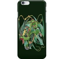 Mega Rayquaza Design iPhone Case/Skin