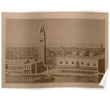 Venice' view from sea Poster