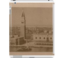 Venice' view from sea iPad Case/Skin