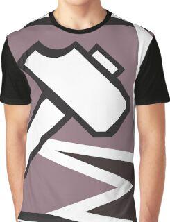 Sledge Operator Icon Graphic T-Shirt