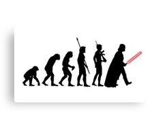 Darth Vader Evolution Canvas Print