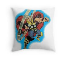 Classic Thor Throw Pillow