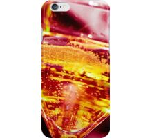 Champagne - red iPhone Case/Skin