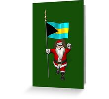 Santa Claus Visiting The Bahamas Greeting Card