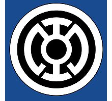 Blue Lantern Corps Photographic Print