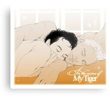 MorMor - In the Arms of my Tiger Metal Print