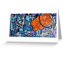 Astronaut Gummy Bear Greeting Card