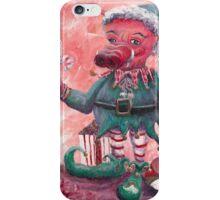 Santa's Littlest Elf Hog iPhone Case/Skin