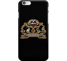 Full Throttle Polecats Retro Pixel DOS game fan shirt iPhone Case/Skin