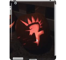 Punk Rock Pumpkin iPad Case/Skin