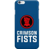 Crimson Fists - Warhammer iPhone Case/Skin