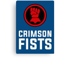 Crimson Fists - Warhammer Canvas Print