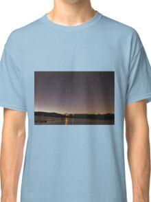 Startrail Above Miramar Lake Classic T-Shirt