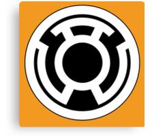Sinestro Corps Canvas Print