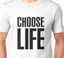 choose life george michael [white] Unisex T-Shirt