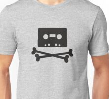 Pirates of the Cassette Player - BLACK Unisex T-Shirt