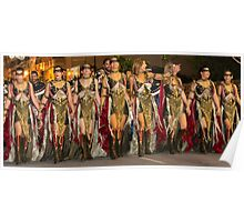Warrior Ladies Poster