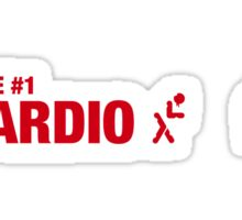 Rule #1: Cardio. Sticker