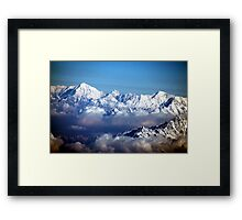 The Himalayas and Mount Everest Framed Print