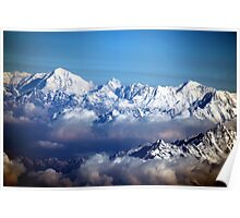The Himalayas and Mount Everest Poster