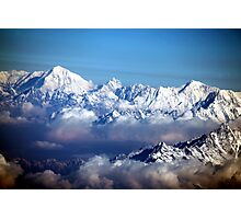 The Himalayas and Mount Everest Photographic Print