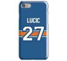 Milan Lucic - BLUE  iPhone Case/Skin
