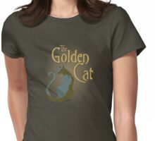 The Golden Cat Womens Fitted T-Shirt