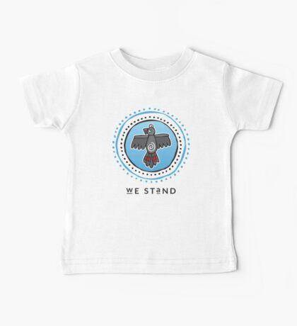 We Stand Baby Tee